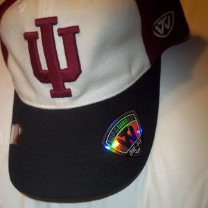 new Indiana Hoosiers Top of the World Hat cotton